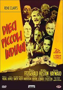 Dieci piccoli indiani di René Clair - DVD