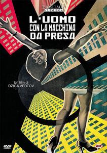 L' uomo con la macchina da presa (DVD) di Dziga Vertov - DVD