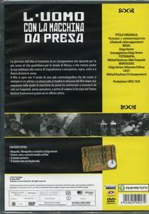 L' uomo con la macchina da presa (DVD) di Dziga Vertov - DVD - 2