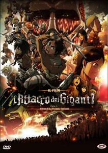 L' attacco dei giganti. Il film. Parte 1: L'arco e la freccia cremisi di Tetsuro Araki - DVD