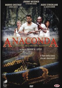 Anaconda. Alla ricerca dell'orchidea maledetta di Dwight H. Little - DVD