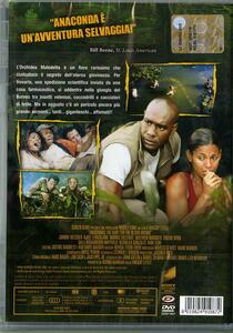 Anaconda. Alla ricerca dell'orchidea maledetta di Dwight H. Little - DVD - 2