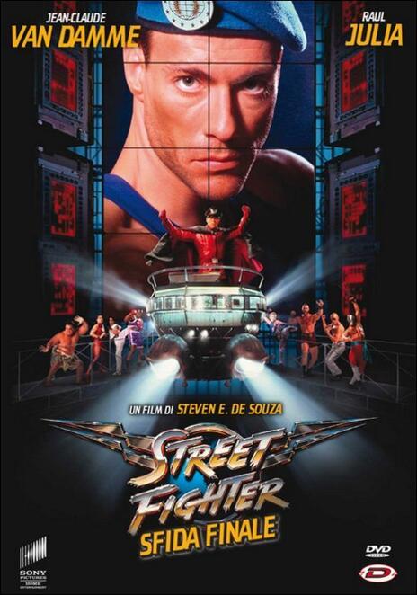 Street Fighter. Sfida finale di Steven De Souza - DVD