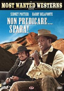 Non predicare... spara! (DVD) di Sidney Poitier - DVD