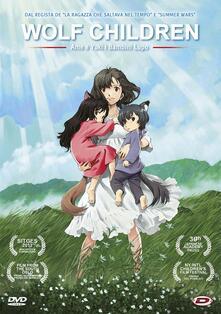 Wolf Children. Ame E Yuki I Bambini Lupo (DVD) di Mamoru Hosoda - DVD