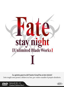 Fate/Stay Night. Unlimited Blade Works. Stagione 1. Episodi 0-12. Limited Edition Box (3 DVD) - DVD