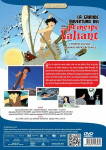 La grande avventura del piccolo principe Valiant (DVD) di Isao Takahata - DVD - 2