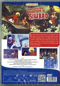 Le meravigliose avventure di Simbad di Yoshio Kuroda,Taiji Yabushita - DVD - 2