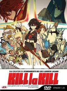 Kill La Kill - Limited Edition (Eps 01-25). Serie TV ita (5 DVD) di Hiroyuki Imaishi - DVD