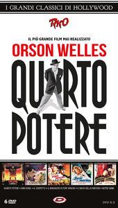 Quarto Potere e i Grandi Classici di Hollywood (6 DVD) di Orson Welles,Ernest B. Schoedsack,Merian C. Cooper,William Dieterle,Alfred Hitchcock,Jacques Tourneur,John Ford