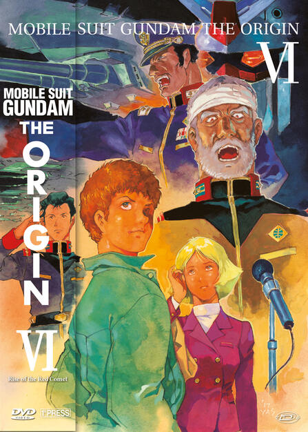 b32c98375e6a9f Mobile Suit Gundam - The Origin VI - Rise Of The Red Comet (DVD ...