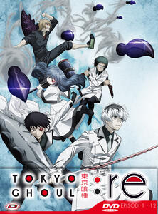 Tokyo Ghoul: Re - Stagione 03 Box 01 (Eps 01-12). Limited Edition (3 DVD) - DVD