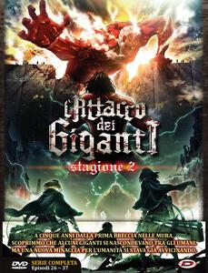 L' attacco dei giganti. Stagione 2. The Complete Series (Eps. 01-12) (3 DVD) di Tetsuro Araki - DVD