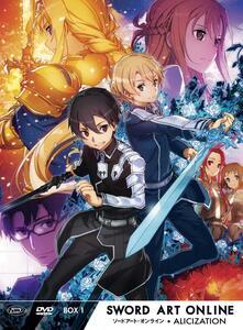Sword Art Online III Alicization. Limited Edition Box #01 (Eps 01-12) (3 DVD) di Manabu Ono - DVD