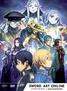 Sword Art Online III Alicization. Limited Edition Box #02 (Eps.13-24) (3 DVD) di Manabu Ono - DVD