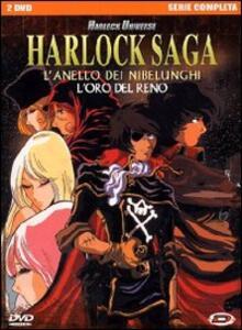 Harlock Saga. L'anello dei Nibelunghi. Serie completa (2 DVD) di Nobuo Takeuchi - DVD