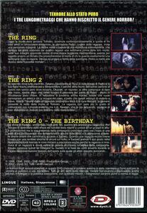 The Ring. Trilogy (3 DVD) di Hideo Nakata,Norio Tsuruta - 2