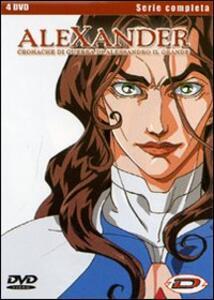 Alexander. Cronache di guerra di Alessandro il Grande. Serie completa (4 DVD) di Yoshinori Kanemori - DVD