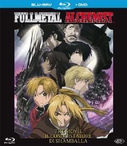 Fullmetal Alchemist. The Movie. Il conquistatore di Shamballa (DVD + Blu-ray) di Seiji Mizushima
