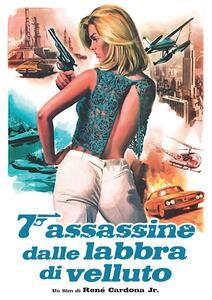 Film 7 Assassine assassine dalle labbra di velluto (DVD + poster) René Cardona Jr.