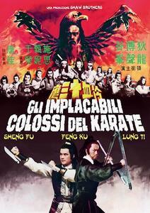 Film Gli Implacabili colossi del karate (DVD + poster) Sun Chung