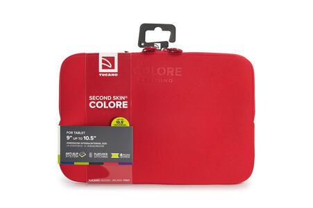 """Custodia Tucano Colore Sleeve per PC 10""""/11"""". Rosso - 7"""