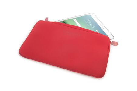 """Custodia Tucano Colore Sleeve per PC 10""""/11"""". Rosso - 3"""