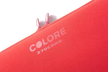 """Custodia Tucano Colore Sleeve per PC 10""""/11"""". Rosso - 6"""