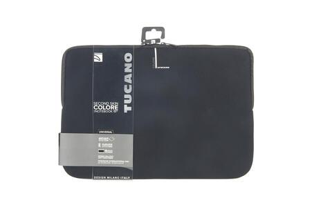 """Custodia Tucano Colore Sleeve per PC 17""""/18"""". Nero - 8"""