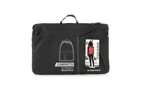 Zaino Tucano Compatto Pack ripiegabile super leggero. Nero - 13
