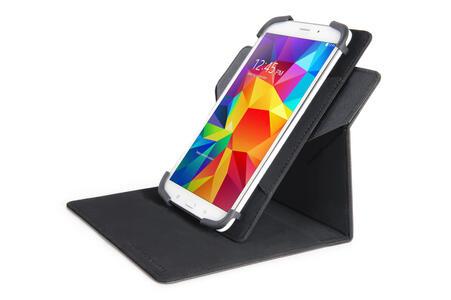 """Custodia universale Tucano Uncino con supporto girevole per tablet da 7"""" e 8"""". Nero - 7"""
