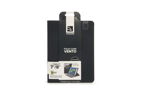 """Custodia universale Tucano Vento per tablet da 7"""" a 8"""". Nero - 10"""