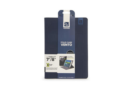 """Custodia universale Tucano Vento per tablet da 7"""" a 8"""". Blu - 6"""