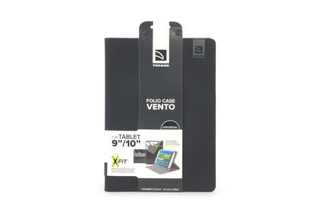 """Custodia universale Tucano Vento per tablet da 9"""" a 10"""". Nero - 10"""