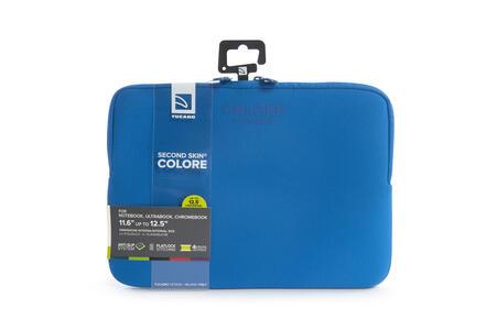 """Custodia Tucano Colore Sleeve per PC 11""""/12"""". Blu - 8"""