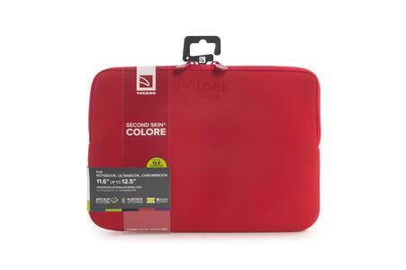 """Custodia Tucano Colore Sleeve per PC 11""""/12"""". Rosso - 7"""