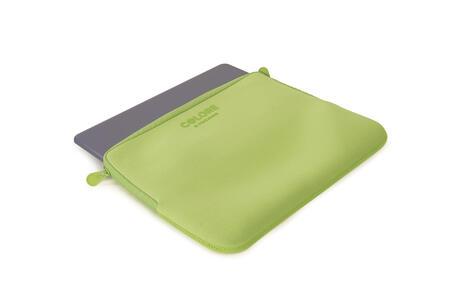 "Custodia Tucano Colore Sleeve per PC 11""/12"". Verde - 3"