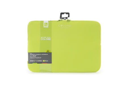 "Custodia Tucano Colore Sleeve per PC 15""/16"". Verde - 7"