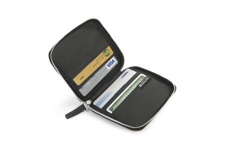 Porta carte di credito Tucano sicuro. Marrone - 5
