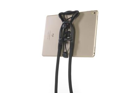 """Supporto indossabile per smartphone e tablet Tucano Spospendo. Per dispositivi fino a 10"""". Nero - 11"""