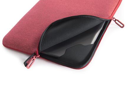 "Custodia Tucano Melange Sleeve per PC 13""/14"". Rosa-Rosso - 5"