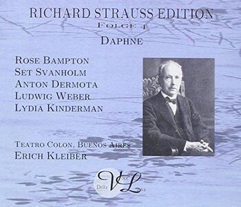 Daphne - CD Audio di Richard Strauss,Erich Kleiber