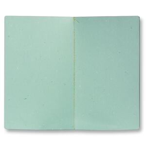 Quaderno cucito Believe medio a pagine bianche. Nero - 2