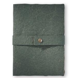 Quaderno brossurato Santa Fe medio a pagine bianche. Verde