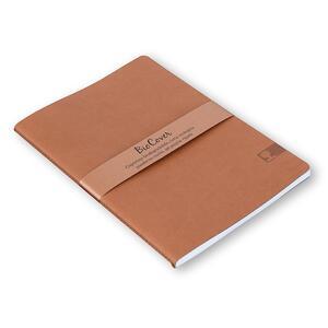 Quaderno cucito Biocover medio a righe. Ocra - 2