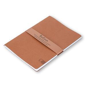 Quaderno cucito Biocover medio a righe. Ocra - 3