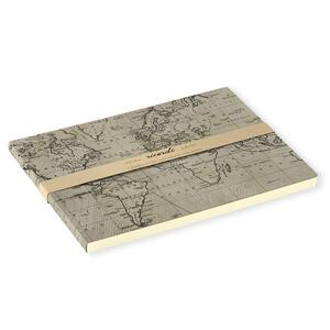 Sketch Book brossurato Ricordi medio a pagine bianche. Cartina geografica - 2