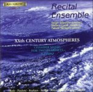 Musica per Due Clarinetti e Piano Dell'900 - CD Audio