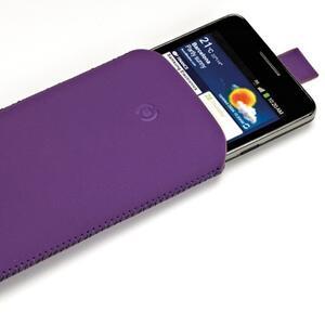 Turbo Nabuk custodia smartphone viola XL - 2