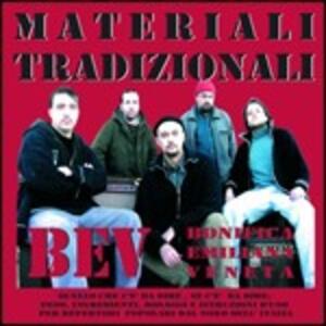 Materiali tradizionali - CD Audio di BEV